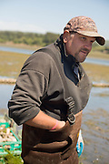 Todd Perman of JAndy Oyster Farm