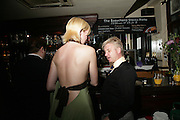 Debbie Gething and Neil Spooner. A Fundraising Cocktail Party in aid of charity.The Beauchamp, 43-44 Beauchamp Place, London, SW3, -DO NOT ARCHIVE-© Copyright Photograph by Dafydd Jones. 248 Clapham Rd. London SW9 0PZ. Tel 0207 820 0771. www.dafjones.com.
