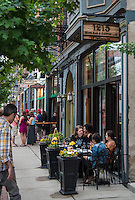 Outdoor Dining in Over the Rhine and 1215 Wine Bar