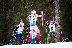 Monika Hojnisz (POL) competes during Women 10 km Pursuit at day 3 of IBU Biathlon World Cup 2015/16 Pokljuka, on December 19, 2015 in Rudno polje, Pokljuka, Slovenia. Photo by Ziga Zupan / Sportida