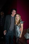 ALEX BRODKIN AND ALLEGRA FELTZ, Bingo Lotto launch party. Soho Hotel Richmond Mews. London. 29 February 2008.  *** Local Caption *** -DO NOT ARCHIVE-© Copyright Photograph by Dafydd Jones. 248 Clapham Rd. London SW9 0PZ. Tel 0207 820 0771. www.dafjones.com.
