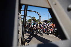 Lucy Kennedy (AUS) in the bunch on Stage 2 of 2020 Santos Women's Tour Down Under, a 114.9 km road race from Murray Bridge to Birdwood, Australia on January 17, 2020. Photo by Sean Robinson/velofocus.com