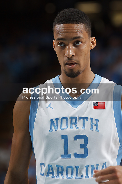 CHAPEL HILL, NC - FEBRUARY 22: J.P. Tokoto #13 of the North Carolina Tar Heels plays against the Wake Forest Demon Deacons on February 22, 2014 at the Dean E. Smith Center in Chapel Hill, North Carolina. North Carolina won 105-72. (Photo by Peyton Williams/UNC/Getty Images) *** Local Caption *** J.P. Tokoto