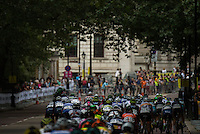 LONDON UK 30TH JULY 2016:  Classique Cyclist Peleton Birdcage Walk. The Prudential RideLondon Classique elite womens' race. Prudential RideLondon in London 30th July 2016<br /> <br /> Photo: Jon Buckle/Silverhub for Prudential RideLondon<br /> <br /> Prudential RideLondon is the world's greatest festival of cycling, involving 95,000+ cyclists – from Olympic champions to a free family fun ride - riding in events over closed roads in London and Surrey over the weekend of 29th to 31st July 2016. <br /> <br /> See www.PrudentialRideLondon.co.uk for more.<br /> <br /> For further information: media@londonmarathonevents.co.uk