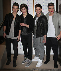 UNION J attends the James' Jog-on to Cancer charity fundraiser, Kensington Roof Gardens, April 3, 2013 in London, England. Photo by: i-Images..