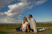 Drew Bledsoe, Doubleback Winery, Walla Walla, Washington