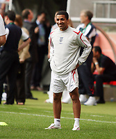 Photo: Chris Ratcliffe.<br />England Training Session. FIFA World Cup 2006. 19/06/2006.<br />Aaron Lennon in training.