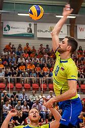 20-05-2018 NED: Netherlands - Slovenia, Doetinchem<br /> First match Golden European League / Dane Mijatovic #18 of Slovenia