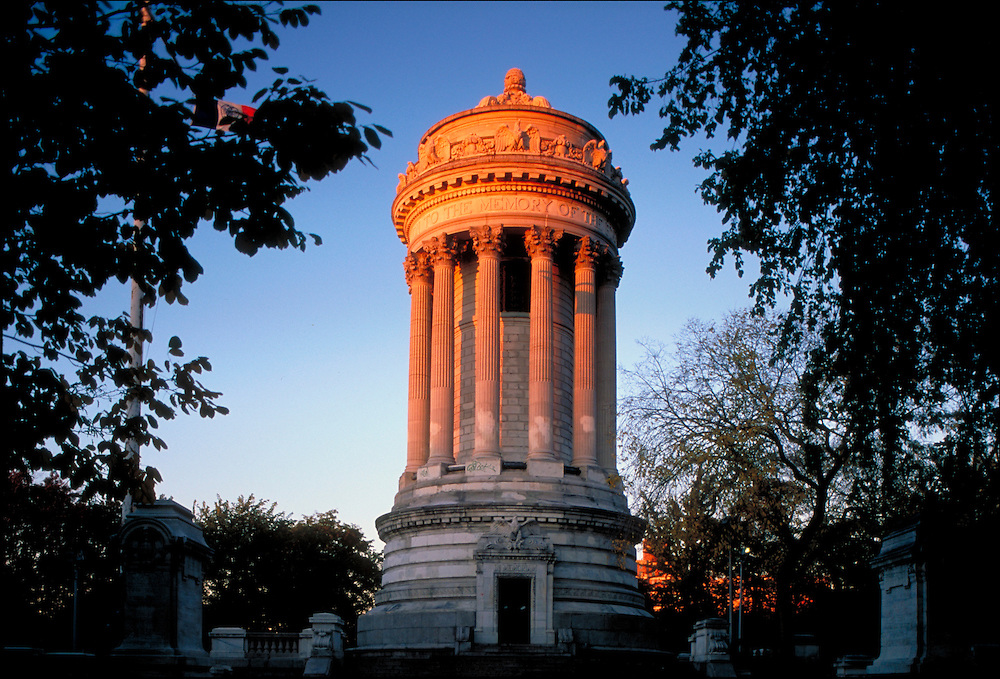 Soldiers' and Sailors' Memorial Monument, New York City, New York, Designed by Charles  and Arthur Alexander Stoughton