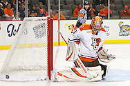 November 21, 2009:  BGSU's Nick Eno (31)during the NCCA hockey game between Michigan and the Bowling Green State University at Lucas County Arena in Toledo, Ohio.