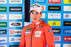 Vesna Fabjan of Cross Country Skiing team at media day of Ski Association of Slovenia before new winter season 2018/19, on October 4, 2018 in Ski resort Pohorje, Maribor, Slovenia. Photo by Grega Valancic / Sportida
