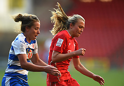 Claire Emslie of Bristol City Women in action during the FA WSL 1 match between Bristol City Women and Reading Women  - Mandatory by-line: Paul Knight/JMP - 22/04/2017 - FOOTBALL - Ashton Gate - Bristol, England - Bristol City Women v Reading Women - FA Women's Super League 1 Spring Series