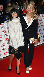 © Licensed to London News Pictures. 21/01/2015, UK. Claudia Winkleman, National Television Awards, The O2, London UK, 21 January 2015. Photo credit : Richard Goldschmidt/Piqtured/LNP