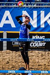 25-08-2018 NED: DELA Beach NK Volleyball, Scheveningen<br /> Robert Meeuwsen NED #2