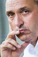 BREDA - NAC - Jong Ajax , Voetbal , Seizoen 2015/2016 , Jupiler league , Rat Verlegh Stadion , 21-08-2015 , NAC Breda trainer Robert Maaskant