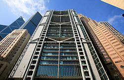 CHINA HONG KONG 24MAY10 - HSBC Bank main building in Hong Kong's busy Central district...jre/Photo by Jiri Rezac..© Jiri Rezac 2010