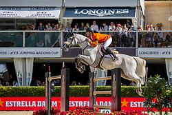 Van Asten Leopold, NED, VDL Groep Beauty<br /> Longines FEI Jumping Nations Cup™ Final<br /> Barcelona 20128<br /> © Hippo Foto - Dirk Caremans<br /> 07/10/2018