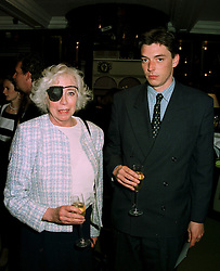 CHRISTIAN, LADY HESKETH and MR JOHN MCEWEN, at a party in London on 5th June 1997.LYZ 6