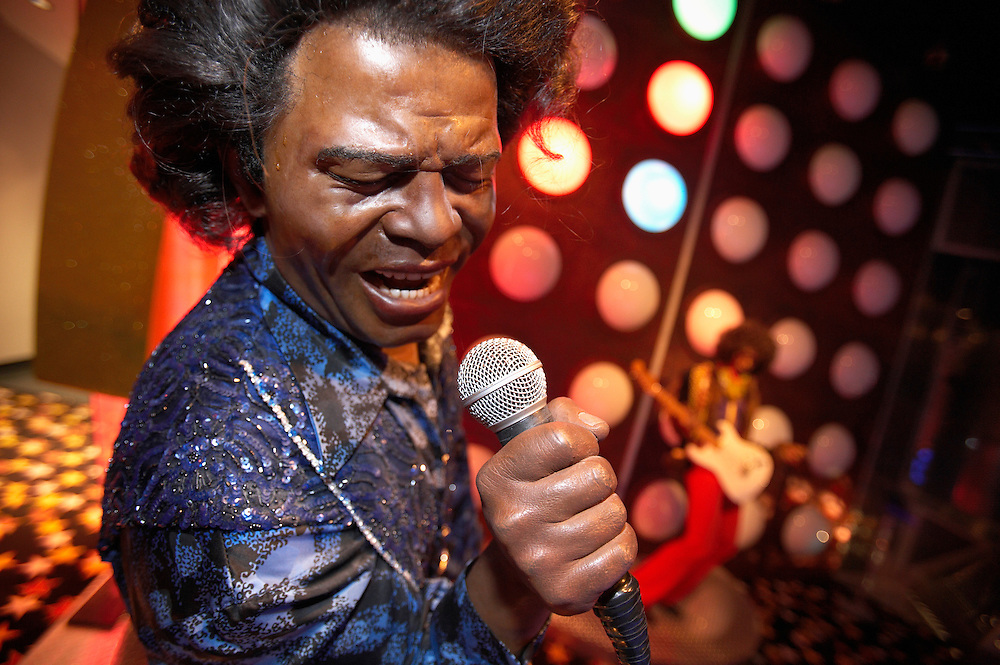 James Brown.Madame Tussaud's Wax Museum.Las Vegas, Museum
