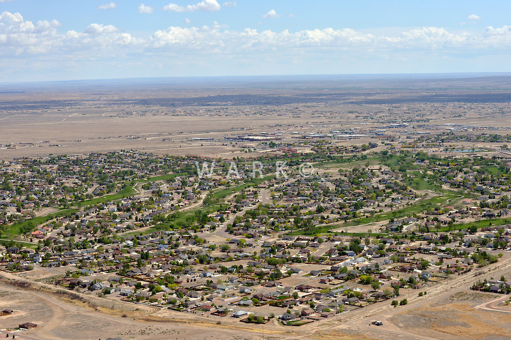 Pueblo West aerial.  June 2013