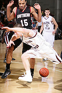 January 7, 2010: The Southern Nazarene University Crimson Storm play against the Oklahoma Christian University Eagles at the Eagles Nest on the campus of Oklahoma Christian University.