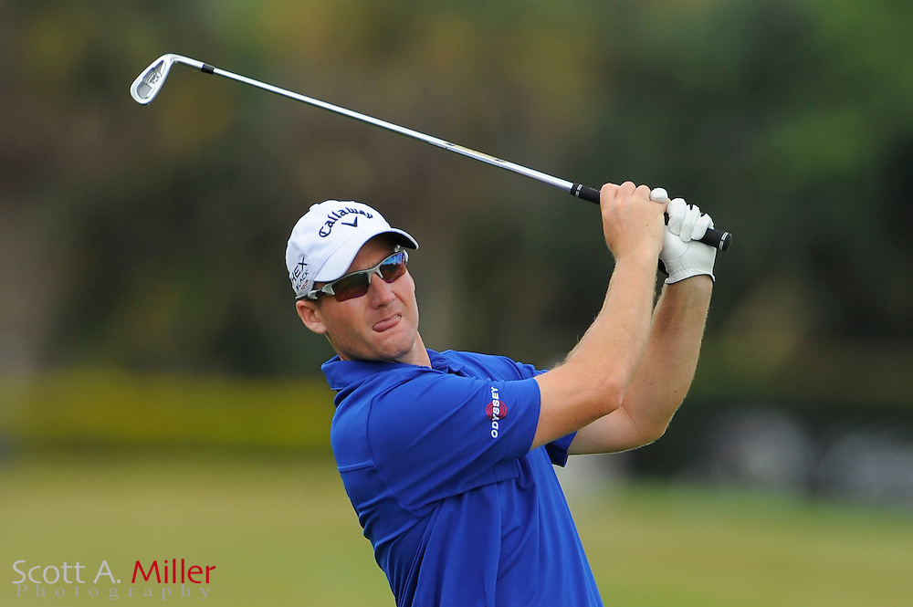 Garth Mulroy during the final round of the World Golf Championship Cadillac Championship on the TPC Blue Monster Course at Doral Golf Resort And Spa on March 11, 2012 in Doral, Fla. ..©2012 Scott A. Miller.