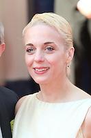 Amanda Abbington, Arqiva British Academy Television Awards - BAFTA, Theatre Royal Drury Lane, London UK, 18 May 2014, Photo by Richard Goldschmidt