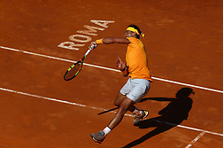May 19, 2018 - Rome, Italy - Rafael Nadal (SPA) at Foro Italico in Rome, Italy during Tennis ATP Internazionali d'Italia BNL semi-final on May 19, 2018. (Credit Image: © Matteo Ciambelli/NurPhoto via ZUMA Press)