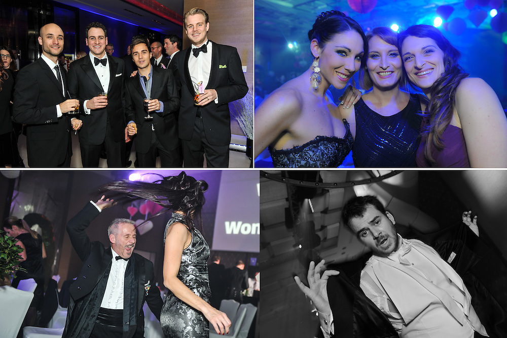 Christmas Ball and party gives corporate employees time to relax and share successes of the year with one another