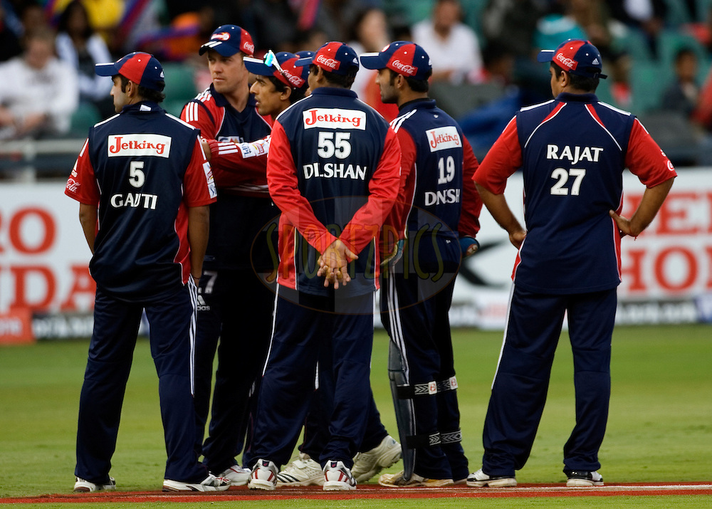 JOHANNESBURG, SOUTH AFRICA - 02 May 2009.  During the IPL Season 2 match between the Delhi Daredevils and the Chennai Superkings held at The Wanderers Stadium in Johannesburg, South Africa.