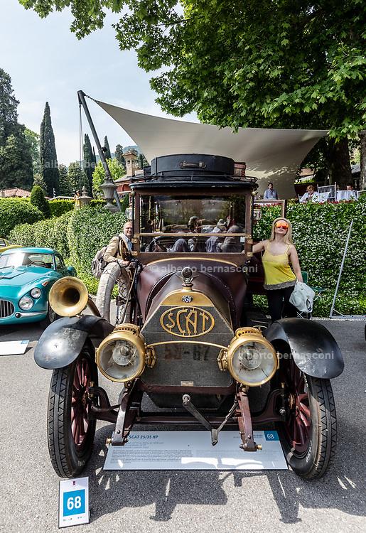 Como, Italy, Concorso d'Eleganza Villa D'Este, Scat  25/35 HP