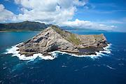 Manana Island, aka Rabbit Island, Oahu, Hawaii
