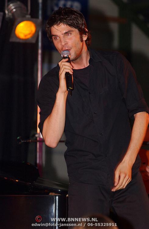 Sportgala 2003 Huizen, optreden Xander de Buisonje