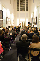 View at a talk by Geordie Greig about his book 'Breakfast With Lucian' held at Grace, 11c West Halkin Street, London on 22nd January 2014.