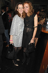 Left to right, SAM PEMBERTON and AMANDA LUCAS at a leaving party for Poppy Delevigne who is going to New York to persue a career as an actress, held at Chloe, Cromwell Road, London on 25th January 2007.<br />
