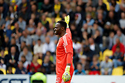 Steve Mandanda (Olympique de Marseille) during the French championship L1 football match between Nantes v Marseille, on August 12, 2017 at the Beaujoire stadium in Nantes, France - Photo Stephane Allaman / ProSportsImages / DPPI