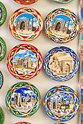 Uzbekistan, Samarqand.<br /> Registan ensemble. Souvenirs.