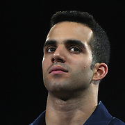 Danell Leyva, Homestead, Florida, during the Senior Men Competition at The 2013 P&G Gymnastics Championships, USA Gymnastics' National Championships at the XL, Centre, Hartford, Connecticut, USA. 16th August 2013. Photo Tim Clayton