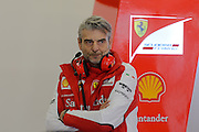 February 26-28, 2015: Formula 1 Pre-season testing Barcelona : Maurizio Arrivabene, team principal of Scuderia Ferrari