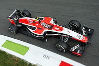 Max Chilton (GBR) Marussia F1 Team MR03.<br /> Italian Grand Prix, Friday 5th September 2014. Monza Italy.