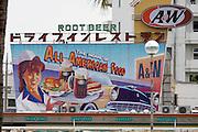 A&W fast food.