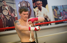 Ricky Hatton training feature