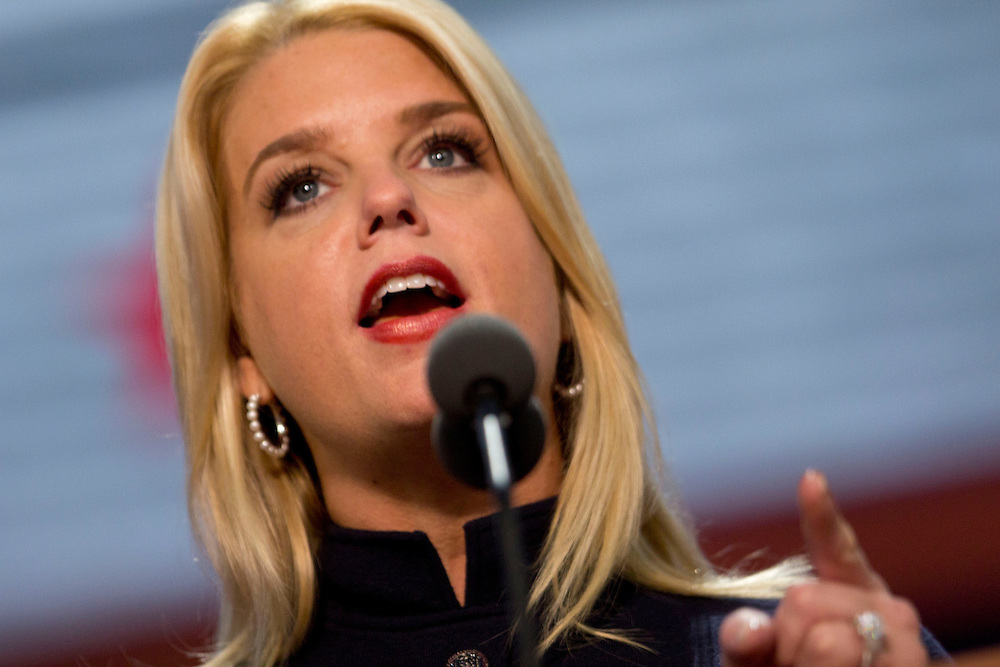 Florida Attorney General Pam Bondi speaks during the Republican National Convention Florida Annual Report Photography, Florida Commercial Photography, Corporate Event Photography Republican Party, GOP