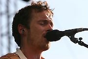 Damien Rice performs during the third day of the 2007 Bonnaroo Music & Arts Festival on June 16, 2007 in Manchester, Tennessee. The four-day music festival features a variety of musical acts, arts and comedians..Photo by Bryan Rinnert.