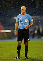 Football Fifa Brazil 2014 World Cup Matchs-Qualifier / Europe - Group A /<br /> Croatia vs Belgium 1-2  ( Maksimir Stadium - Zagreb , Croatia )<br /> The Referee Howard WEBB , during the match between Croatia and Belgium