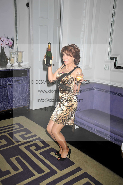 KATHY LETTE at a party to celebrate the publication of 'In Bed With' held at the Artesian Bar,The Langham Hotel, 1c Portland Placeon 11th February 2009.