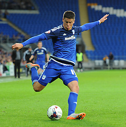 Alex Revell of Cardiff City - Mandatory by-line: Paul Knight/JMP - Mobile: 07966 386802 - 11/08/2015 -  FOOTBALL - Cardiff City Stadium - Cardiff, Wales -  Cardiff City v AFC Wimbledon - Capital One Cup