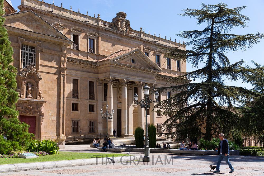University of Salamanca, Faculty of Philology - Languages in Plaza de Anaya, Spain