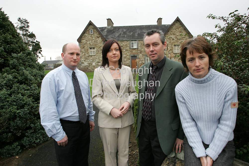 12/11/2004.Pictured at the Suicide Resource Office at St Patricks Hospital, Waterford was from left John Kennedy, Mary O Shaughnessy, Sean McCarthy and Agatha Lawless..Picture Dylan Vaughan