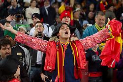03.07.2010, Ellis Park, Johannesburg, RSA, FIFA WM 2010, Viertelfinale, Paraguay (PAR) vs Spanien (ESP) im Bild .Fans of Spain Torrer Verkleidung, EXPA Pictures © 2010, PhotoCredit: EXPA/ Sportida/ Vid Ponikvar, ATTENTION! Slovenia OUT